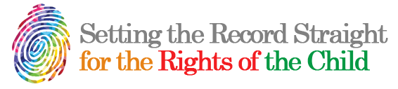 Setting the Record Straight: For the Rights of the Child