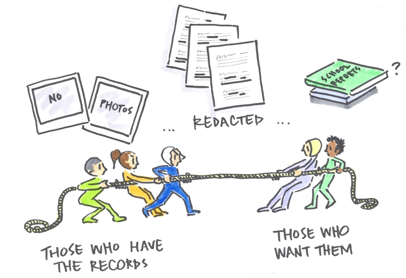 Sketchnote Tug of War