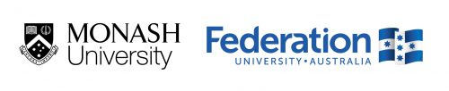Monash University and Federation University Australia Logos