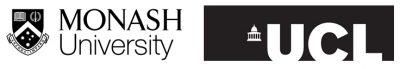 Monash and UCL Logos